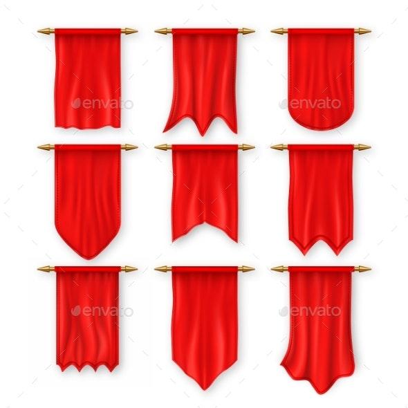 Flag Set Vector - Miscellaneous Vectors