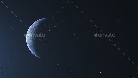 Planet Earth 4 Pack - Backgrounds Graphics