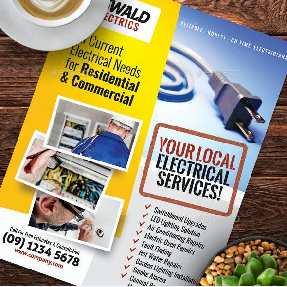 Electrician Flyer Templates
