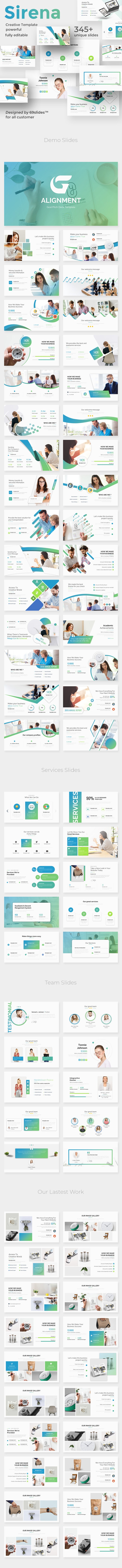 Goal Alignment Pitch Deck Keynote Template - Business Keynote Templates