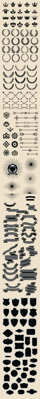 Design Elements Pack - Decorative Symbols Decorative