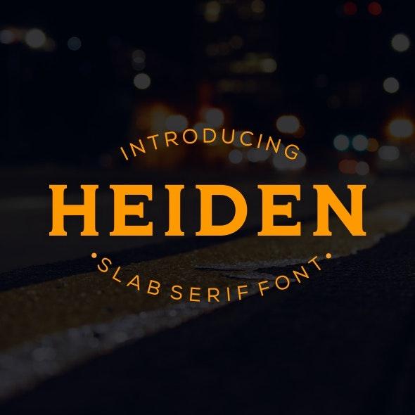 Heiden - Condensed Serif
