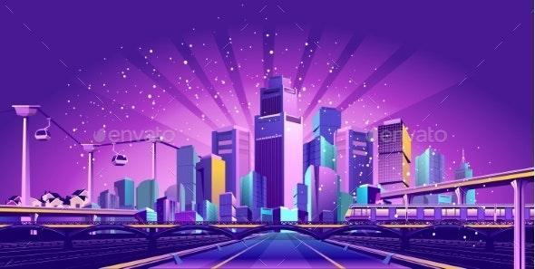 Road to the Big City - Miscellaneous Vectors