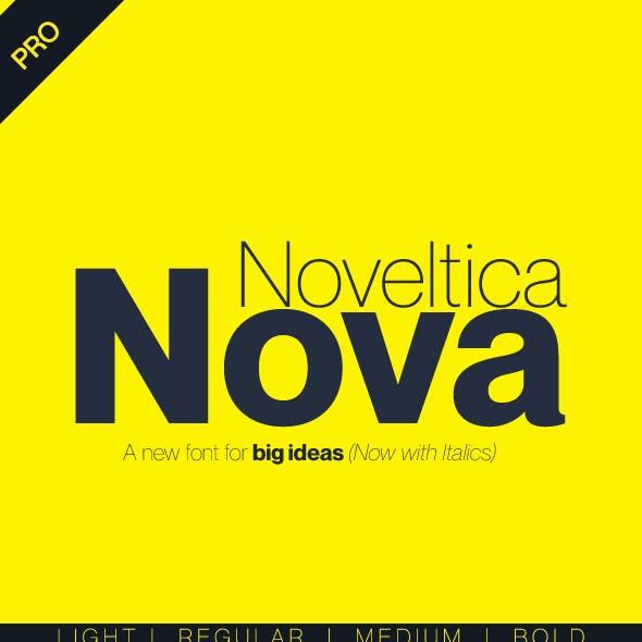 Noveltica Nova Pro Font