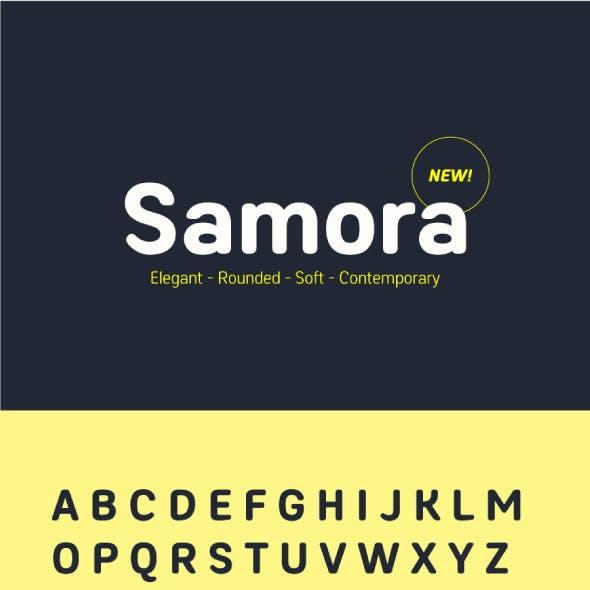 Samora Rounded Font