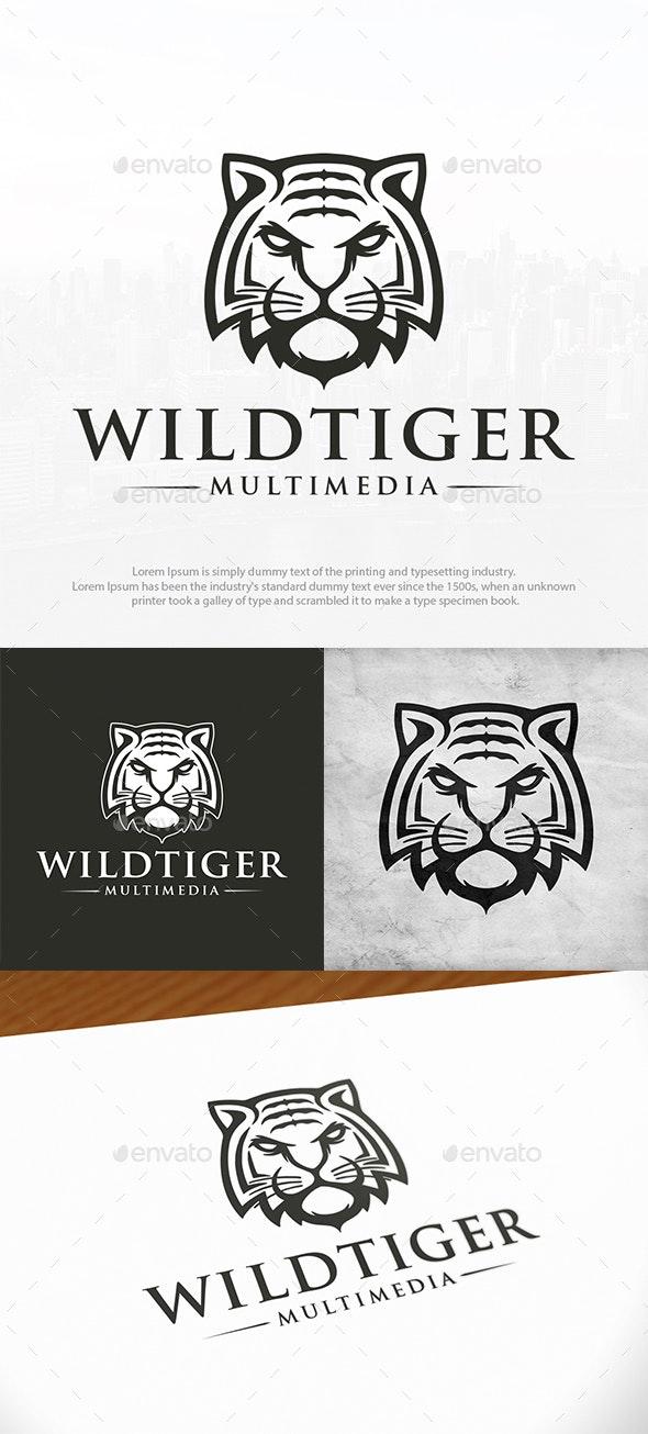 Strong Tiger Logo Template - Animals Logo Templates
