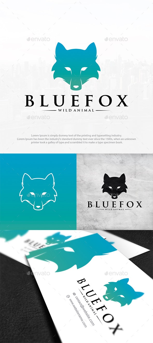 Colorful Foxy Logo Template - Animals Logo Templates