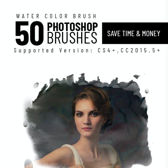 50 Watercolor Brush Set Vol 01