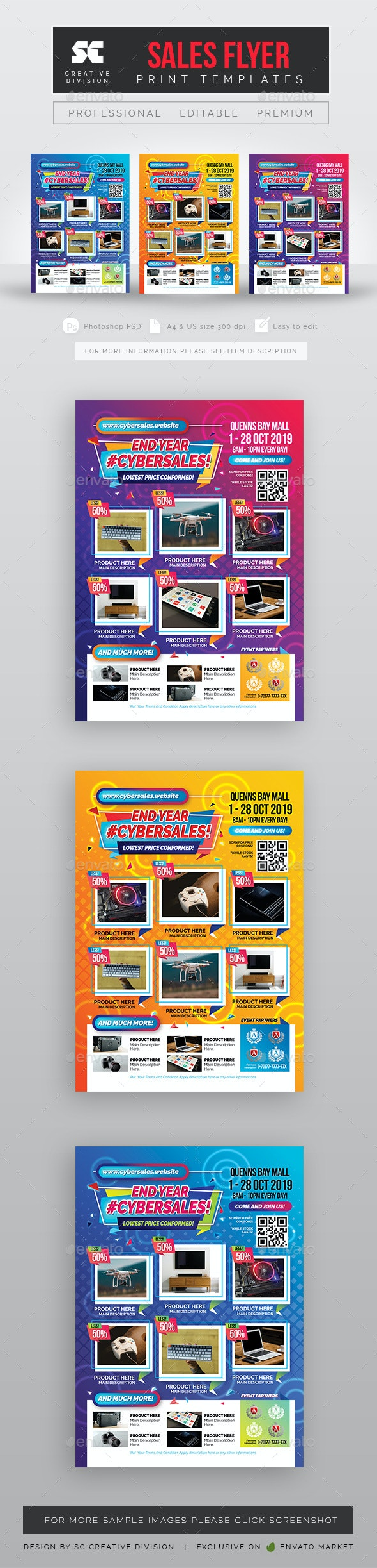 Sales Flyer - Commerce Flyers