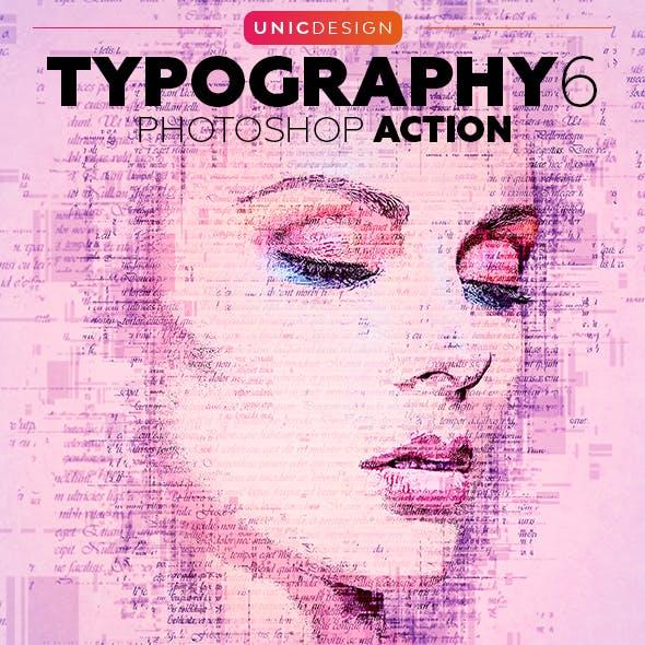 Typography 6 Photoshop Action