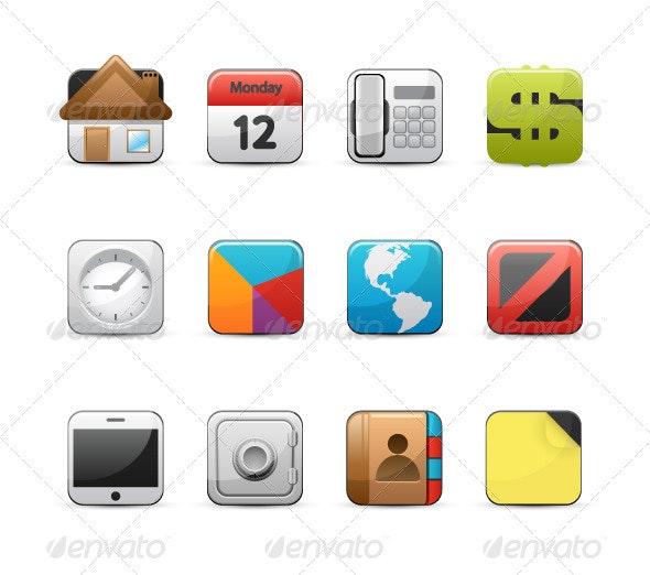 Design bussines icon set - Business Conceptual