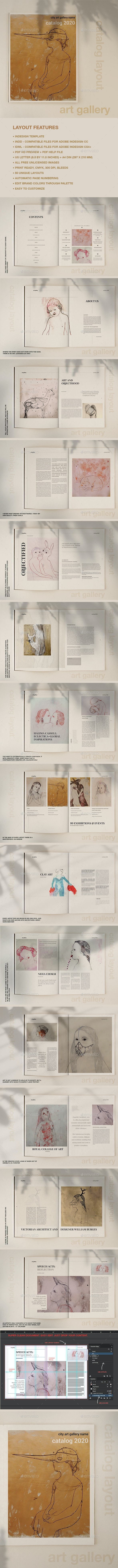 Art Gallery Catalog - Catalogs Brochures