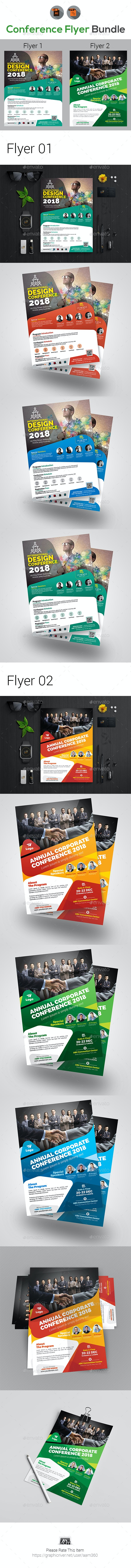 Conference Flyer Bundle - Events Flyers