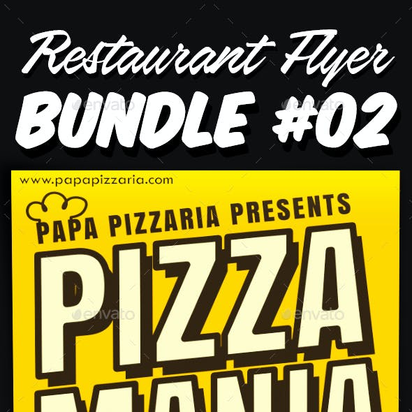 Restaurant Flyer Bundle 02