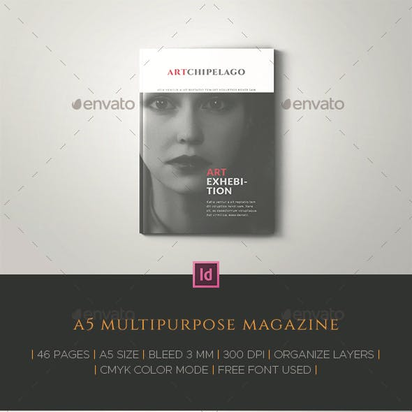 A5 Multipurpose Magazine