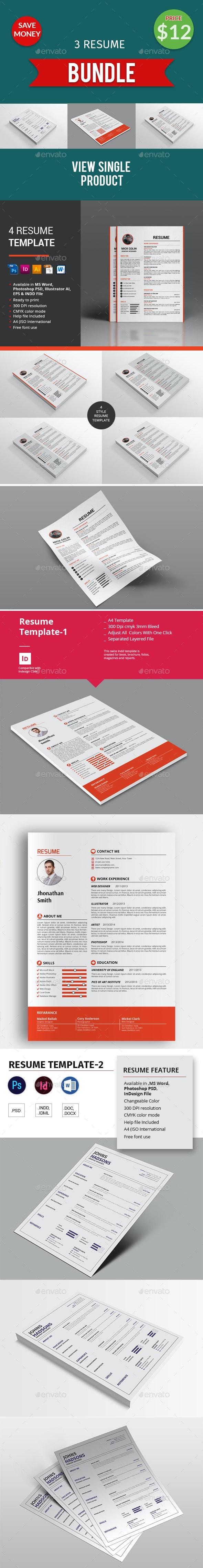 Resume Bundle - Resumes Stationery