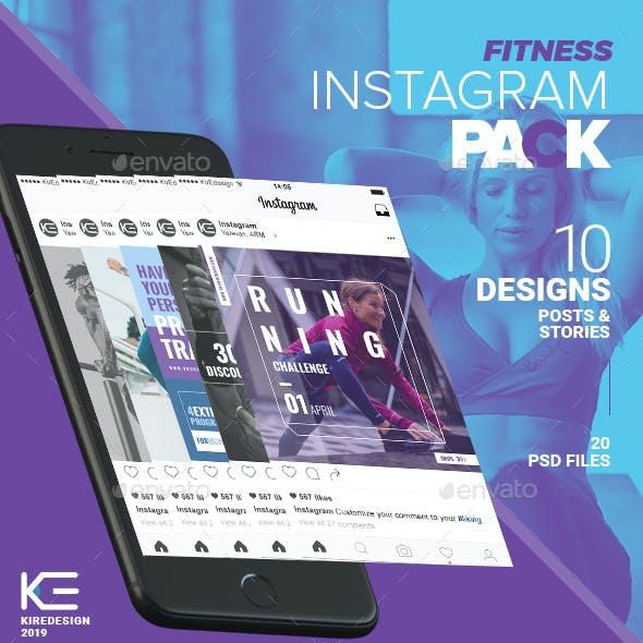 10 Instagram Fitness Posts & Stories