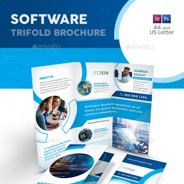 Software Trifold Brochure 10