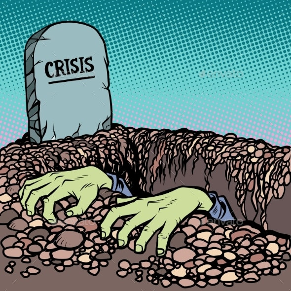 The Corpse Is Chosen From a Grave Crisis - Miscellaneous Vectors