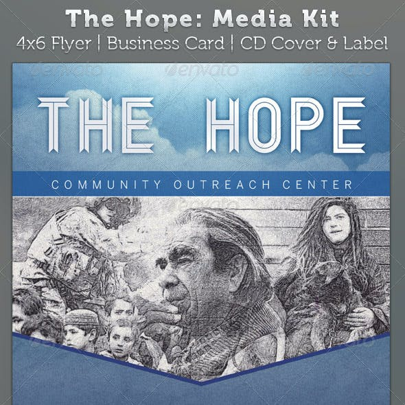 The Hope Church Charity - Media Kit Package