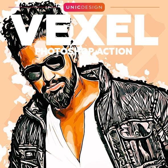 Vexel Photoshop Action