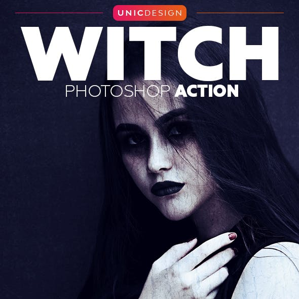 Witch Photoshop Action