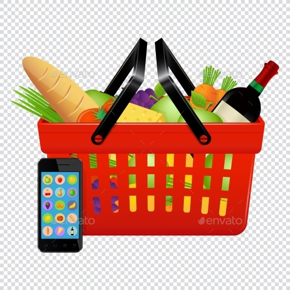 Online Shopping - Food Objects