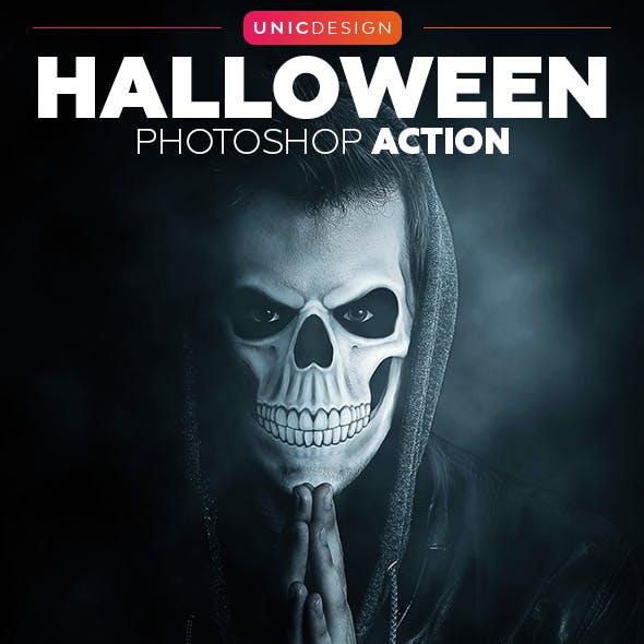 Halloween Photoshop Action