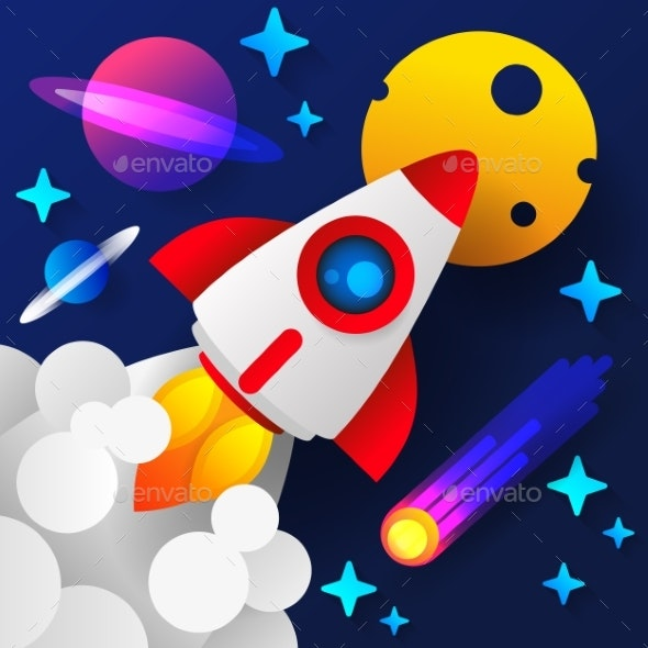 Rocket Launch - Miscellaneous Vectors
