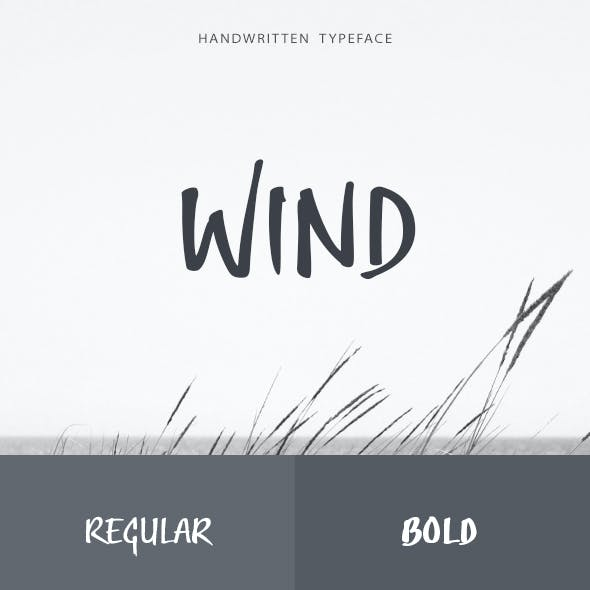 Wind Handwritten Font