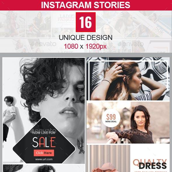 Instagram Stories Bundle - 16 Design