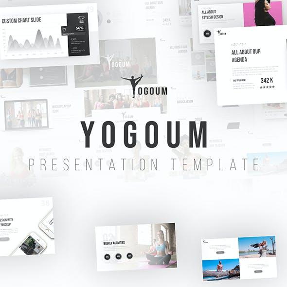 Yogoum - Yoga & GYM PowerPoint Template