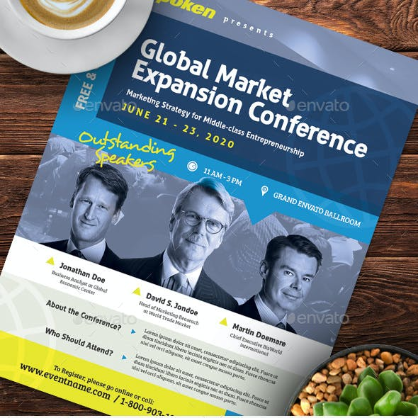 Multi Purpose Business Event Flyer or Poster v.02