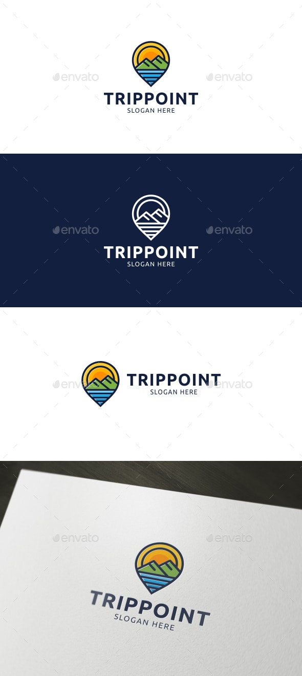 Trip Point Logo - Objects Logo Templates