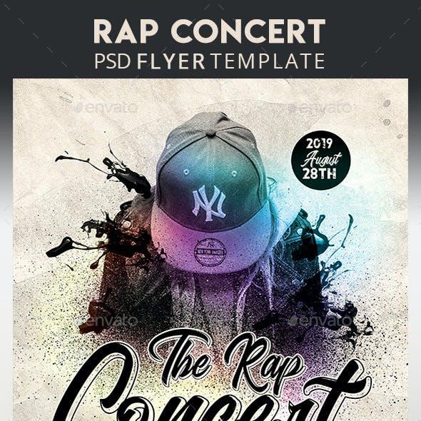 Rap Concert Flyer + Instagram Post