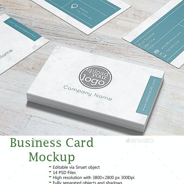 Business Card Mockup 2