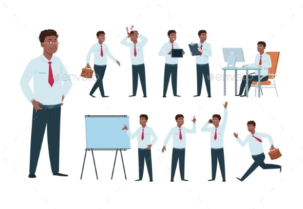 Businessman Character - People Characters