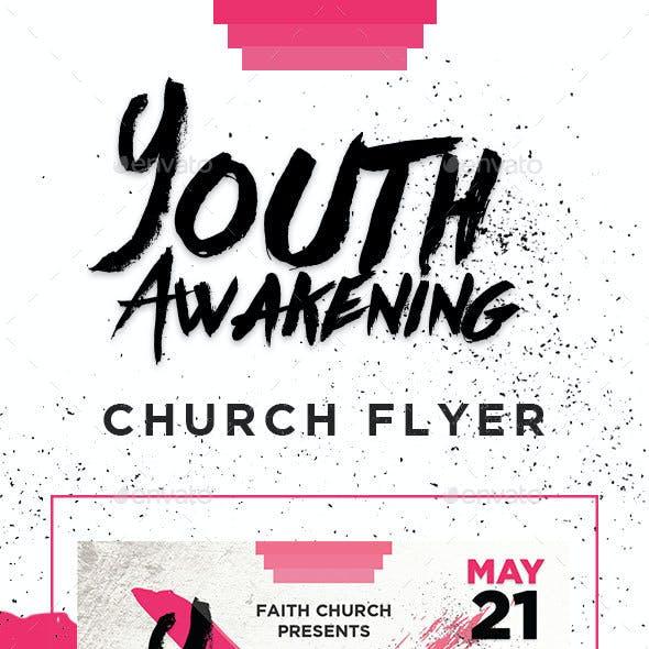 Youth Awakening Church Flyer