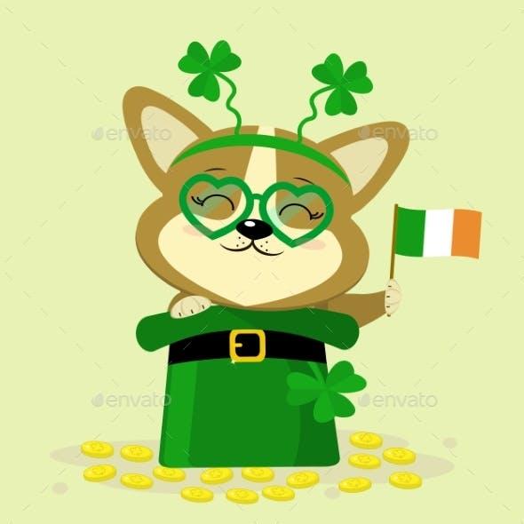 St. Patrick s Day Dog