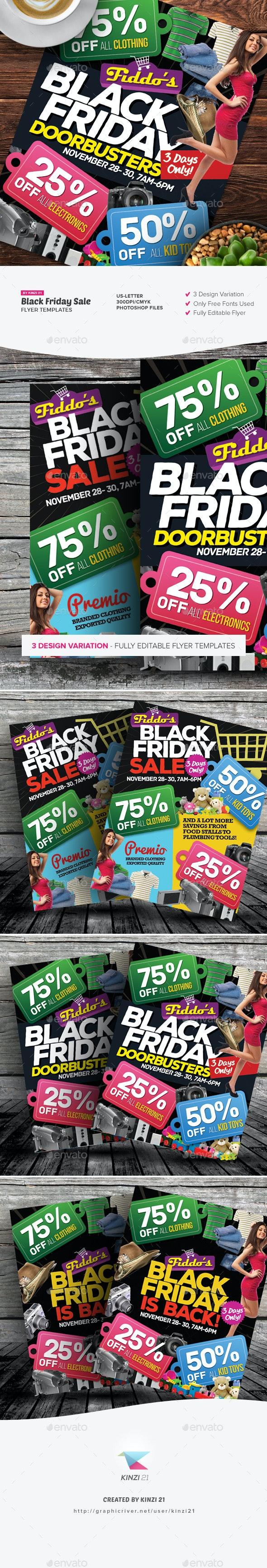 Black Friday Sale Flyers - Commerce Flyers