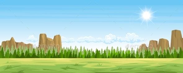 Rural Summer Landscape - Landscapes Nature