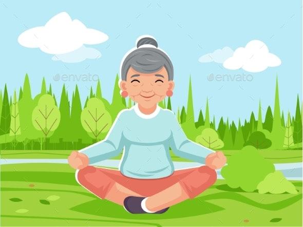 Outdoor Park Nature Fitness Meditation - Landscapes Nature