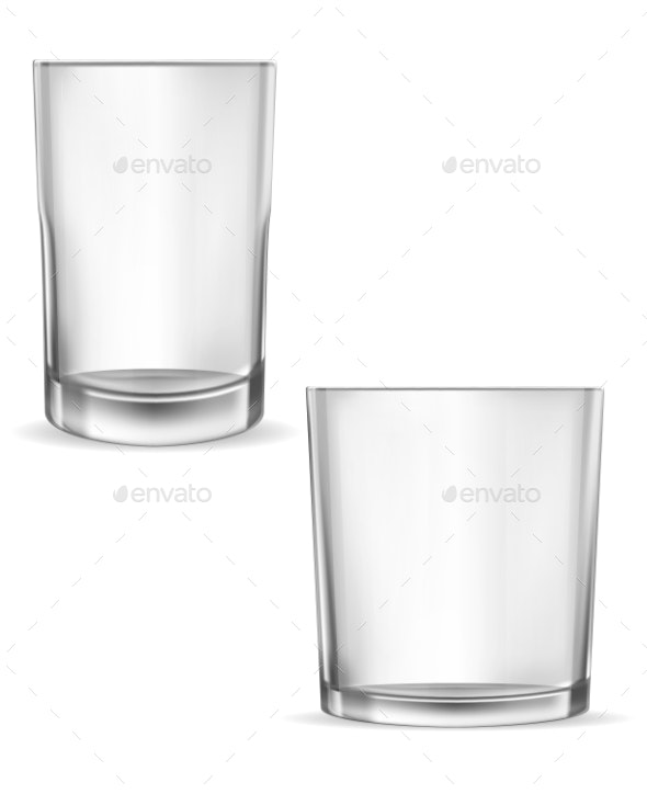 Glass Glasses Empty - Food Objects