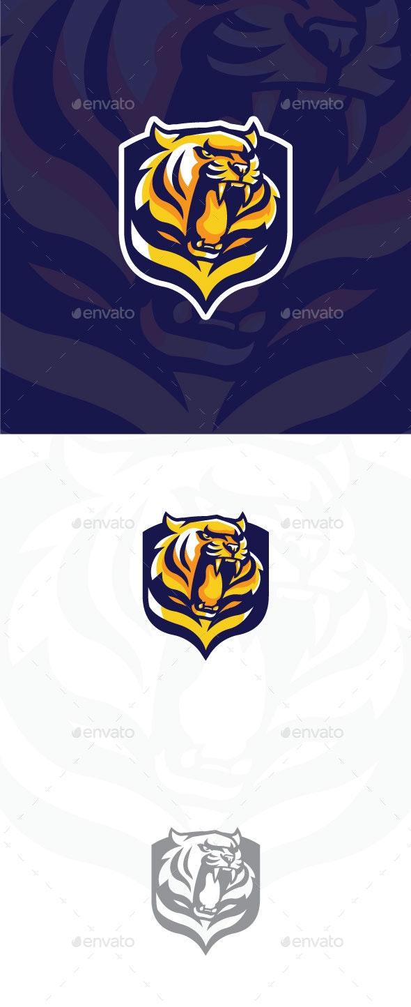 Tiger Team Sports - Decorative Symbols Decorative