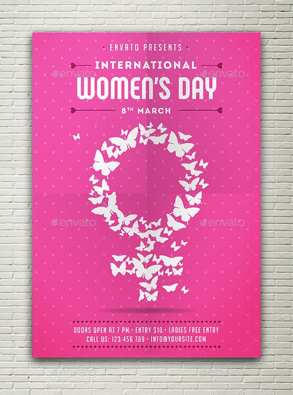 International Women's Day Flyer - Events Flyers
