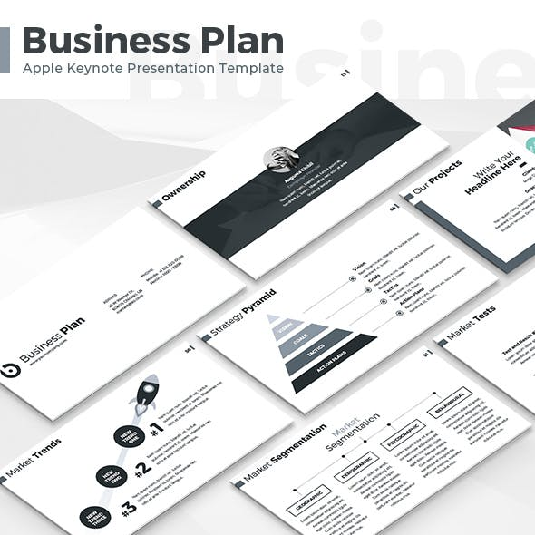 Business Plan - Keynote Presentation Template