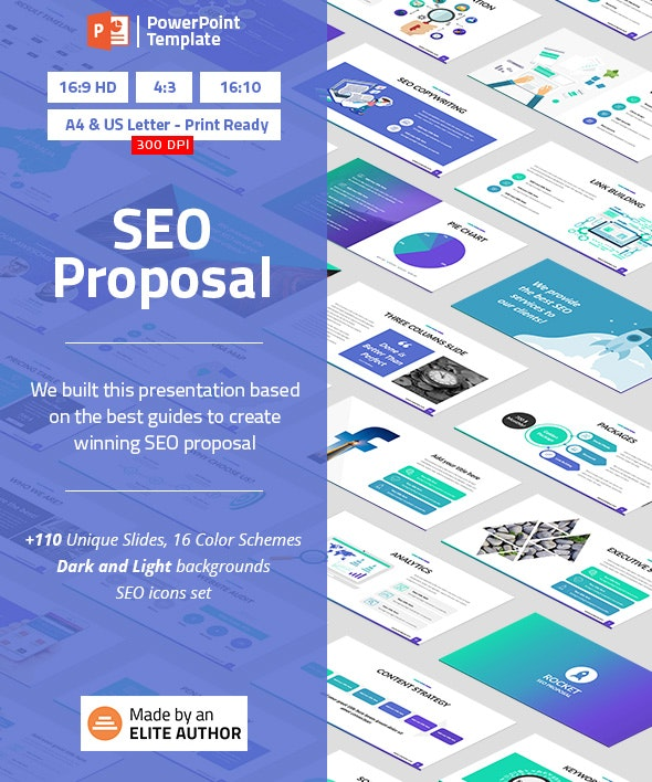 SEO Proposal PowerPoint Presentation Template by Spriteit | GraphicRiver
