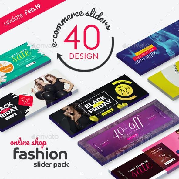 Fashion Slider Pack