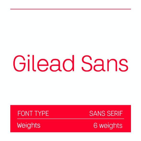 Gilead Sans Pro Font