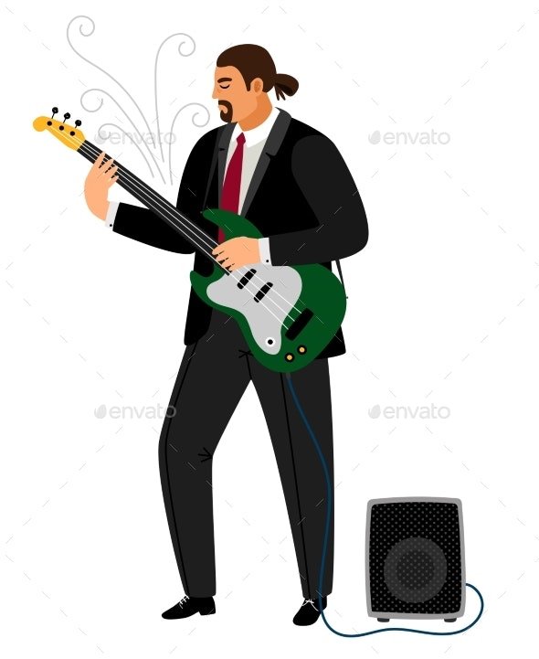 Rock Guitarist - People Characters